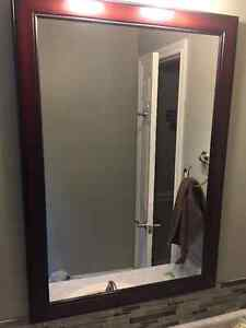 "Mirror - 29"" x 41"" - excellent shape - BURLINGTON"