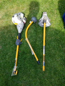 Ryobi One grass trimmer and one other attachment