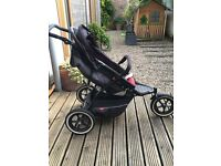 Phil and teds explorer double buggy