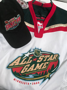 NHL All Star FANdom Volunteer Jersey & Baseball Hat
