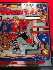 Bobby Orr power play back glass