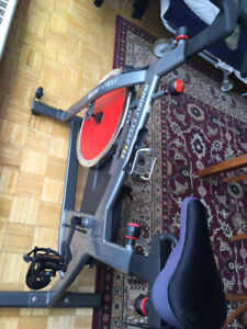 $75 for duo Stationary Bike & Rowing Machine