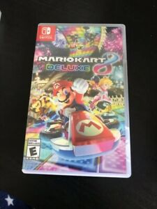 Used Mario Kart 8 Deluxe for Nintendo Switch sale