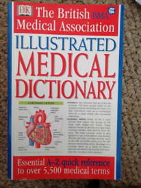 2 x medical books/dictionary