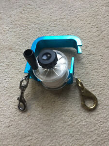 REDUCED Blue Anodized Aluminum Reel with Tension/Locking System