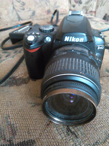 Very good Digital Camera !Nikon D40 and charger Kitchener / Waterloo Kitchener Area image 1