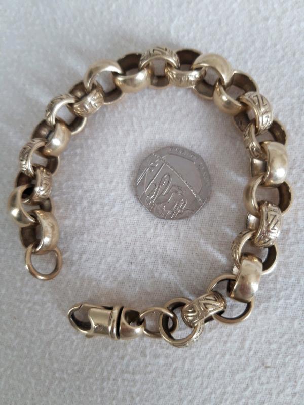 4b68c38b382e8 9ct Belcher bracelet | in Middlesbrough, North Yorkshire | Gumtree