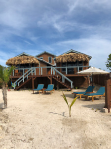 Oceanfront Boutique Cabanas on Ambergris Caye, Belize