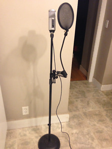 USB Microphone/Pop Filter
