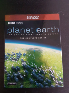 Plant Earth complete series on HD-DVD hddvd