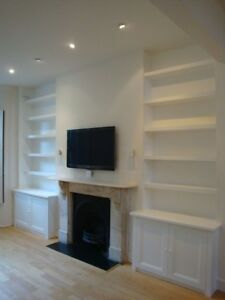 Custom Made Display Cabinets, Bookcases and Kitchens