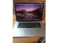 Mac book pro Retina 15 inch mid 2012