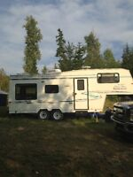 26 FT 5th Wheel Travel Trailer For Sale 1999 Kustom Koach
