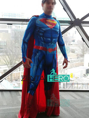 Superman Costume New 52 Version Superman Cosplay Zentai Suit For - Superman Suit For Kids