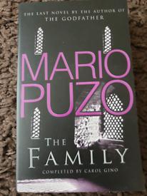 ** REDUCED PRICE** Mario Puzo bundle of books (3)
