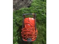 Flymo Hoover compact 300 lawnmower.