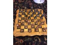 Chess Board!!! Antique