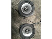 Alpine 13cm co axial door speakers etc Clio fiesta saxo so on 200w