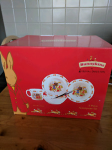 Royal Doulton Bunnykins Set NIB