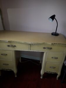 desk/wood French Provincial style