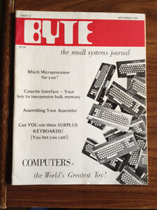 Byte Magazines - Make offer for the whole collection