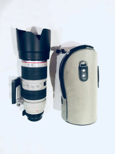 Canon 70-200 with adapter