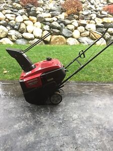 2013 SNOW BLOWER FOR SALE - Barely Used