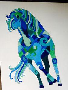 Beautiful Original Painting of Horse