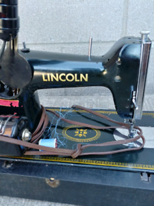 Lincoln Necchi Sewing machine italy