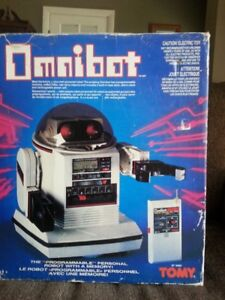 1984 Omnibot,complete in box,By Tomy,Made in Japan