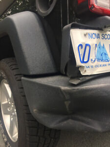 Jeep Bumper Dent - Need repaired