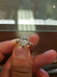 Pear Shaped Diamond GIA