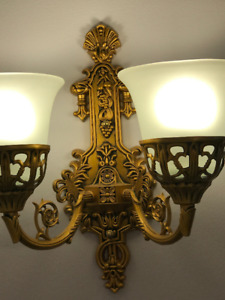 2 Wall Sconces