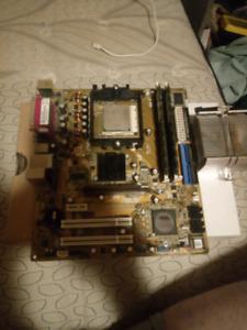 AMD Athelon 64 CPU + Asus Mobo + RAM