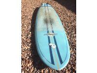 """7'2"""" sunset surf mini Mal surf board"""