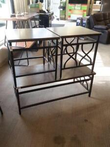 *** USED *** ASHLEY TIPPLEY COFFEE/END TABLES   S/N:51197677   #STORE524