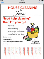 Looking for help with cleaning?