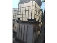 1000litre IBC water/Liquid Tank