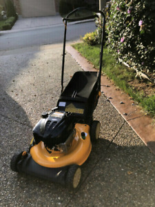 Cub Cadet mower for sale