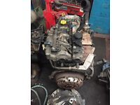 TX4 full engine, complete gearbox and exhaust system