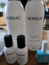 Semilac hybrid UV lamp plus gel polishes