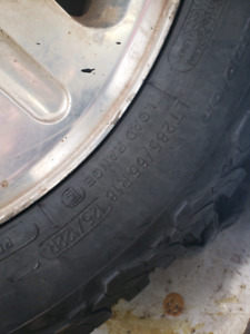 Superduty 18inch wheels and tires