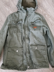 Jacket with fur size L
