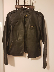 Manteau de vrai cuir Akoury