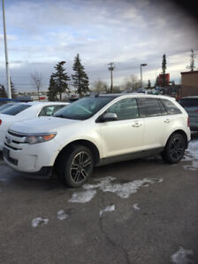 2014 Ford Edge SEL - AWD / Pearl White
