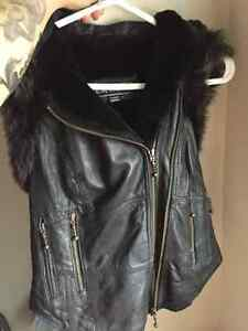 Cruelty Free Genuine Leather Vest Strathcona County Edmonton Area image 3