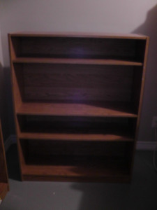 "Book case 48"" H X 37""L X 12"" deep"