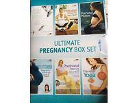 Pregnancy exercise DVD box set