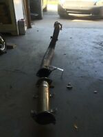 S13 Silvia downpipe and test pipe