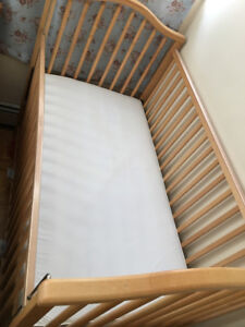 Baby Crib (with mattress included)